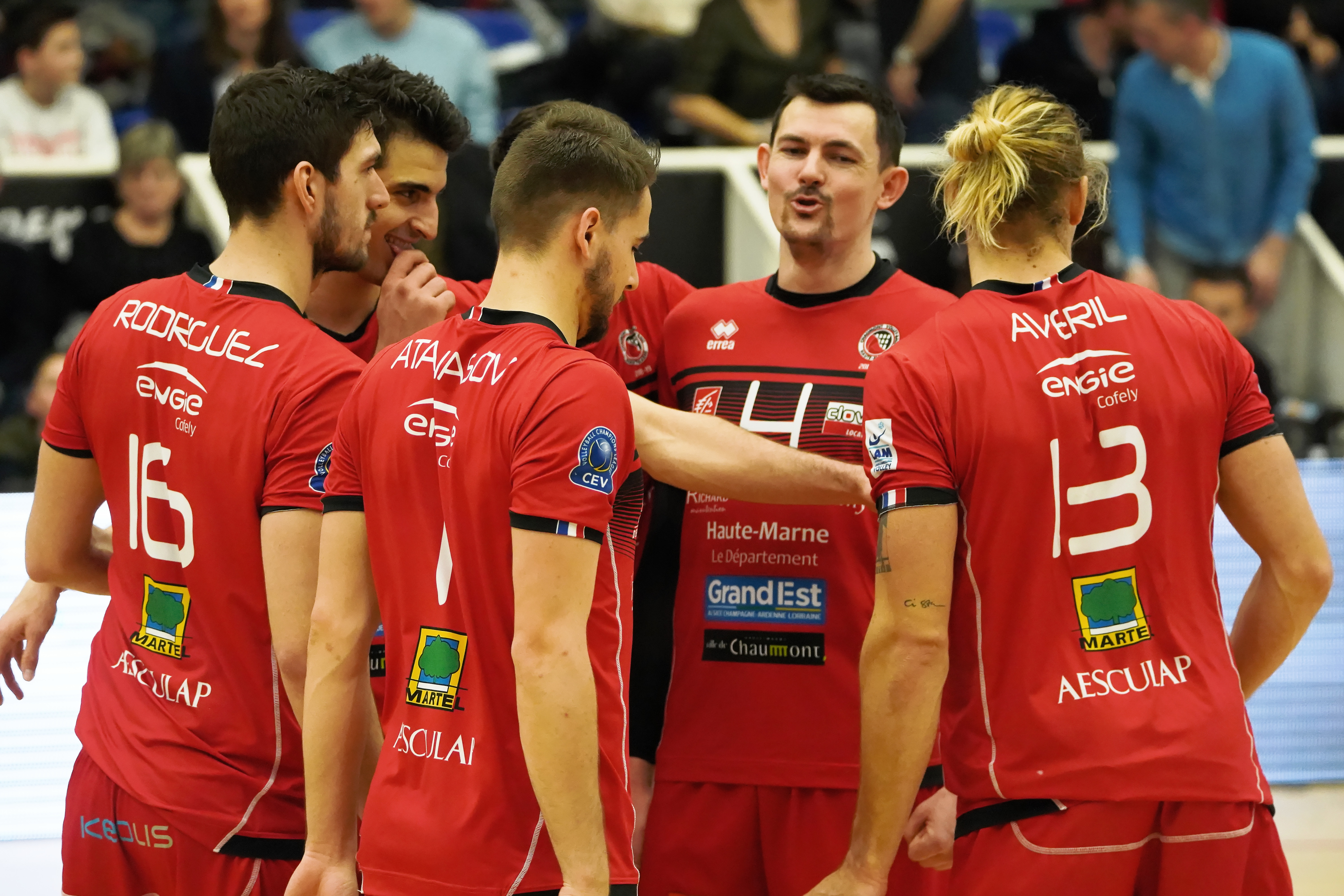 18e journée de Ligue A Masculine : Rennes Volley 35 – CVB 52