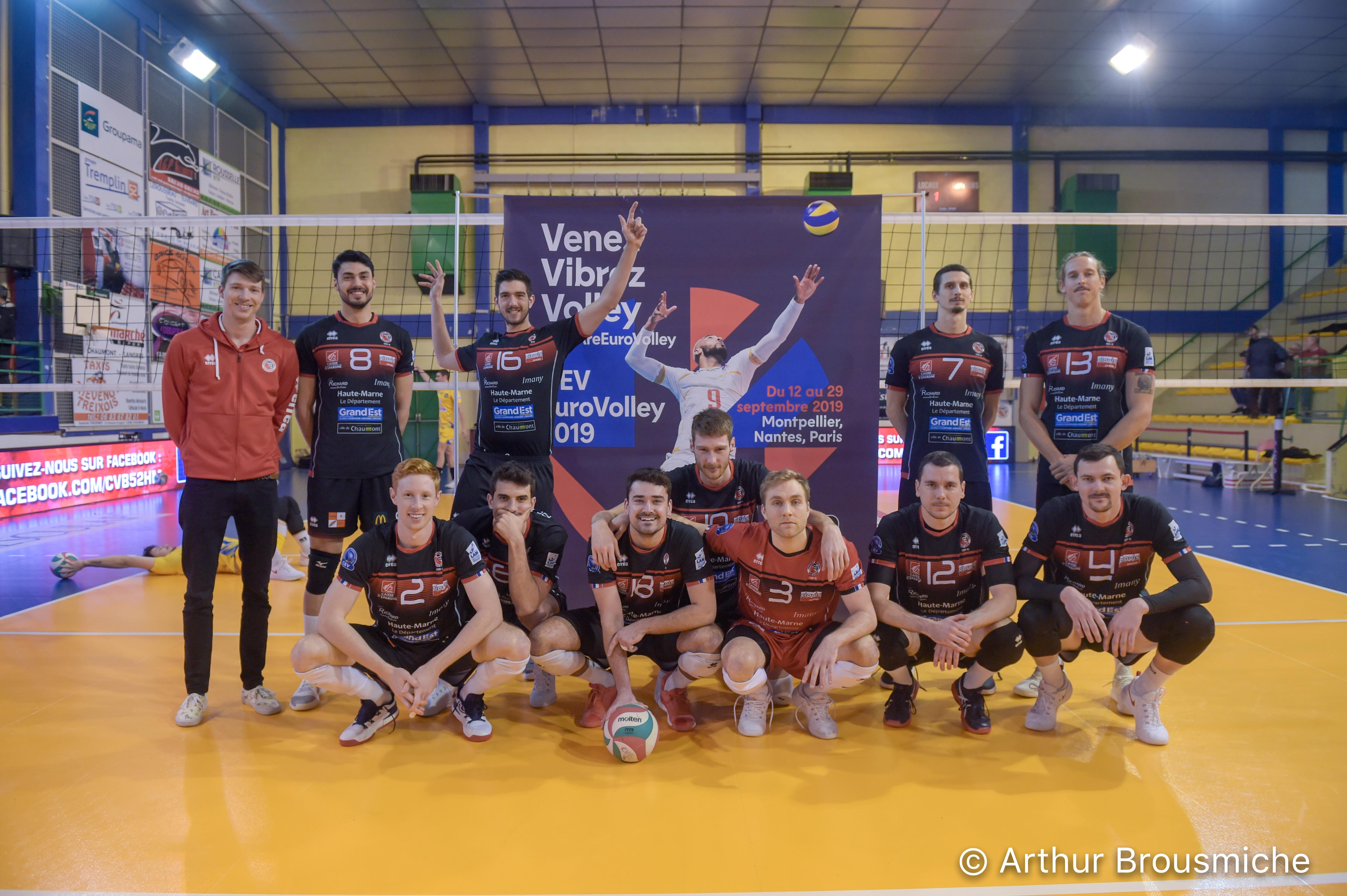 19e journée de Ligue A Masculine : CVB 52 – Nice VB