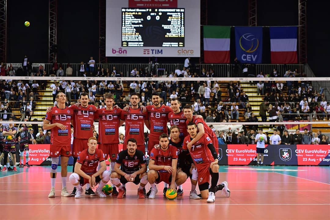 Quart de finale retour CEV Champions League : SIR Perugia – CVB 52