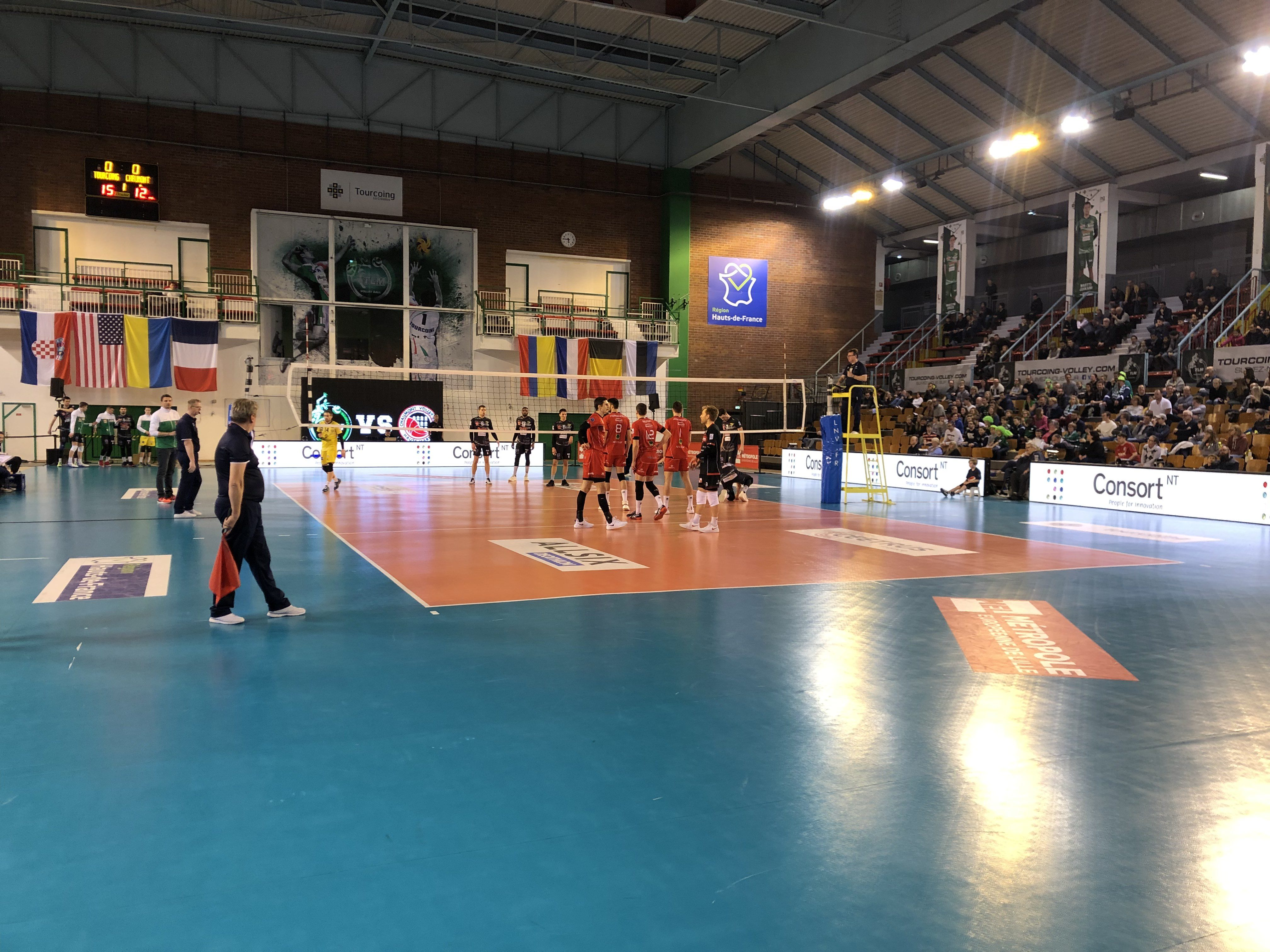 20e journée de Ligue A Masculine : Tourcoing LM – CVB 52